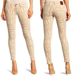 Lucky Brand Jeans Legend Skinny Lace Print 6 28